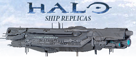 DARK HORSE HALO SHIP REPLICAS